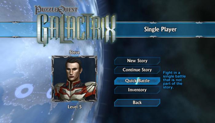 к игре Puzzle Quest: Galactrix