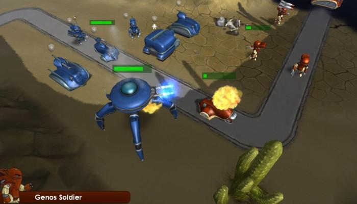 к игре Commanders: Attack of the Genos