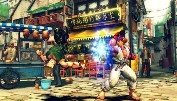 к игре Street Fighter 4