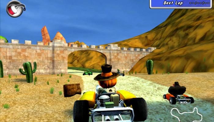 к игре Moorhuhn Kart Thunder