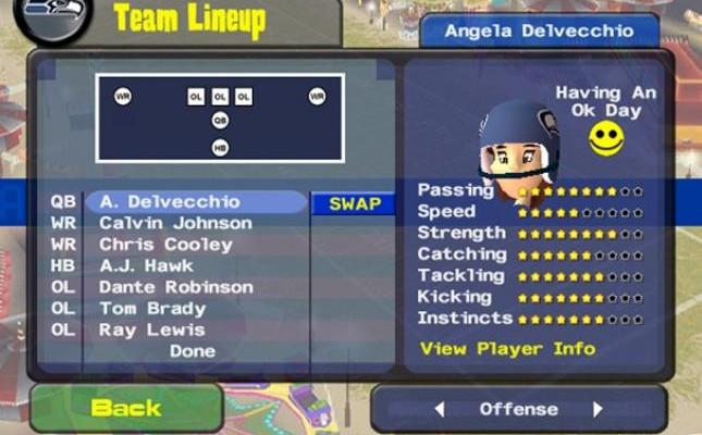 к игре Backyard Football 2009