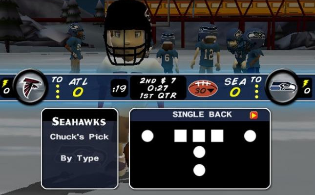 к игре Backyard Football 2009