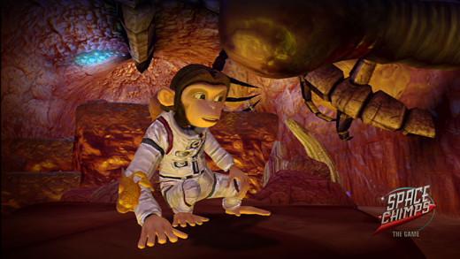 к игре Space Chimps