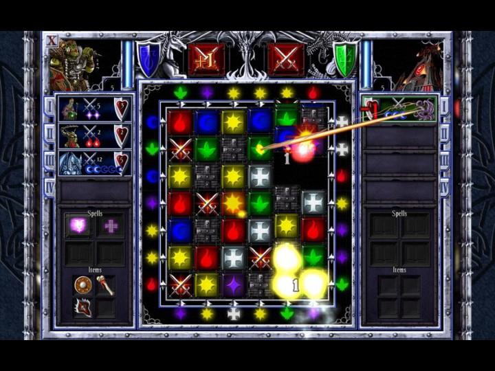 Puzzle quest galactrix 2009 - маленькие игры rpg match-3.