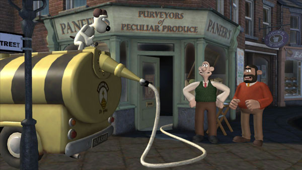 к игре Wallace & Gromit's Grand Adventures Episode 1 - Fright of the Bumblebees