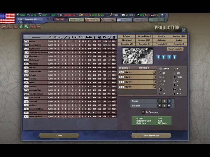 Скриншоты для игры День Победы 3 Hearts of Iron 3.