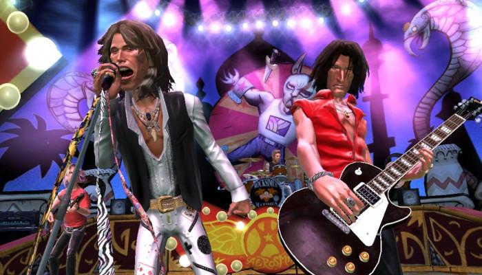 к игре Guitar Hero: Aerosmith
