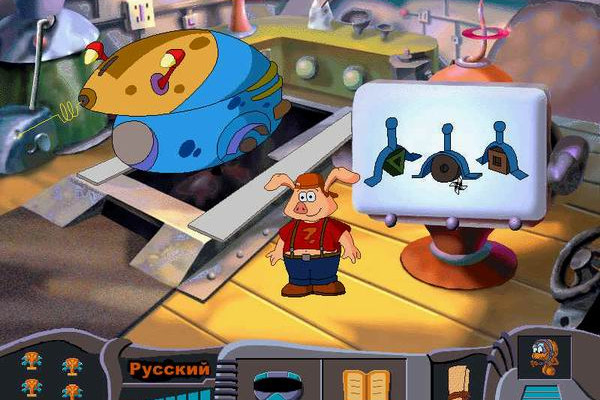 к игре Pong Pong's Learning Adventure: Back to the Future