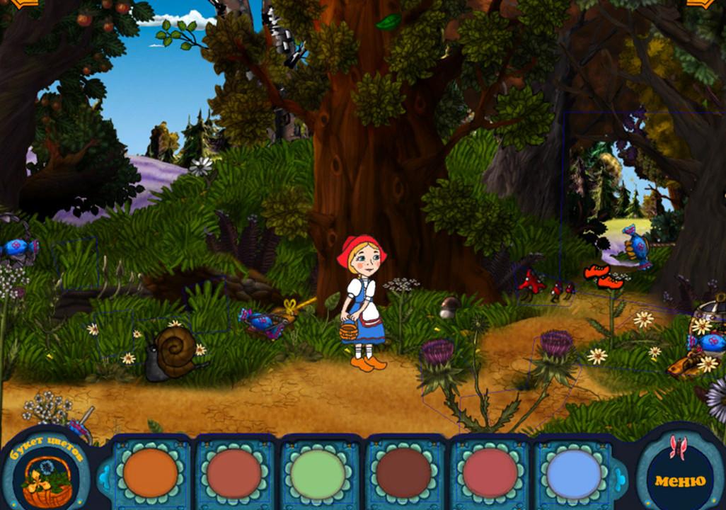 Безплатно Игру Красная Шапочка