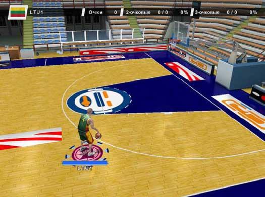 к игре International Basketball 2007