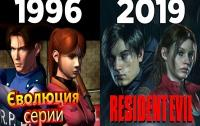эволюция серии resident evil