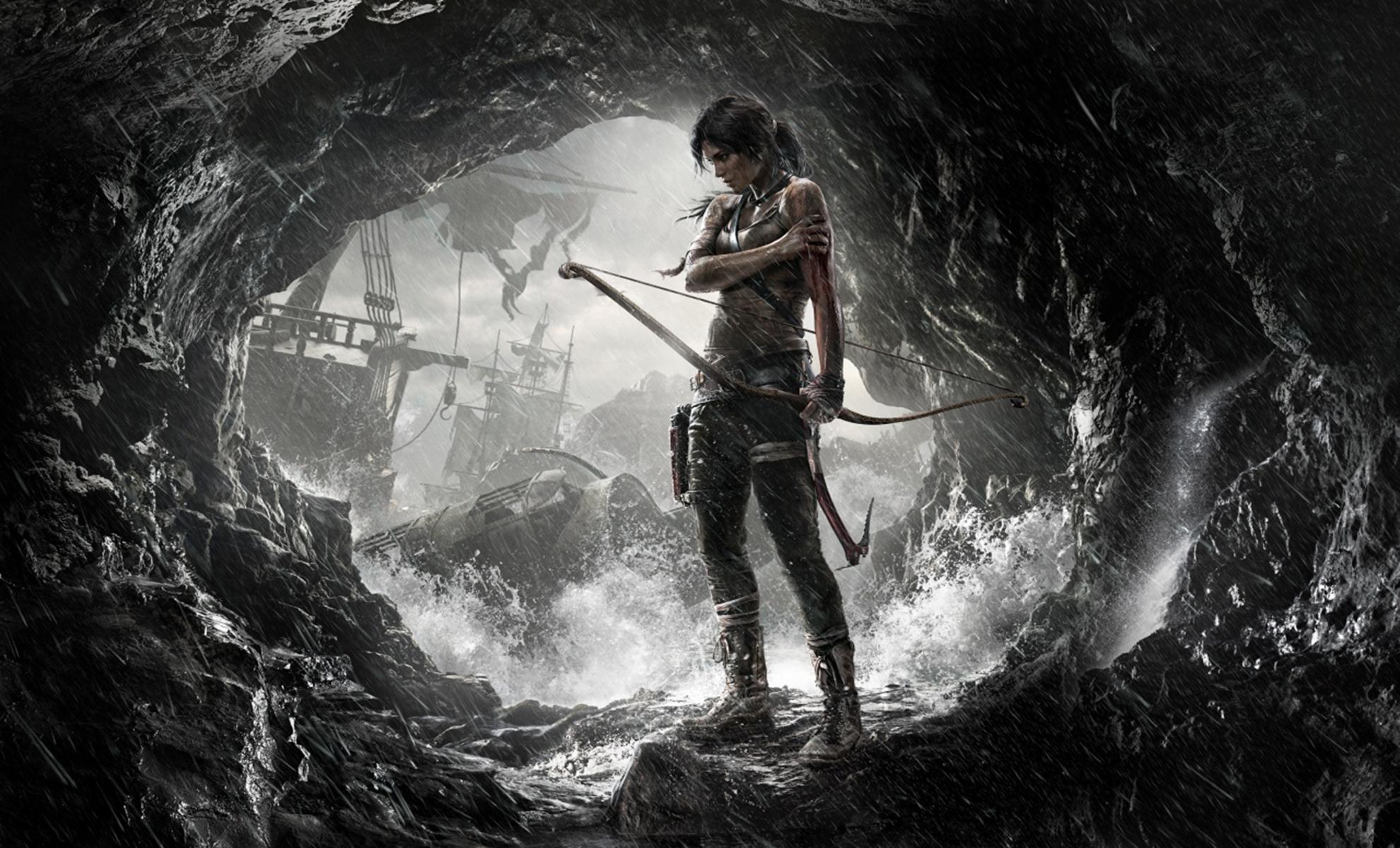 Lara croft tomb raider anniversary big booty  smut scene