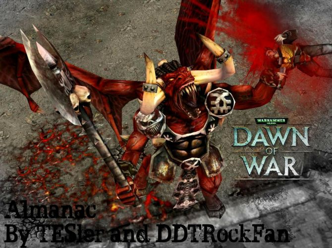 Warhammer 40k Dawn of War.