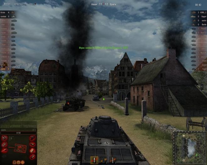 СССР в игре Мир танков или World of Tanks.