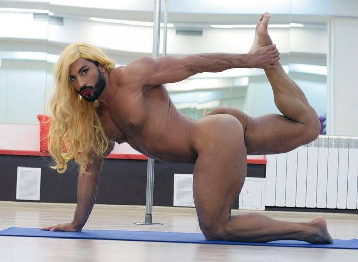 Обнажённые парни с мускулами, голые, накаченные, сексуальные и мускулистые