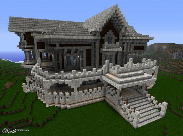 красивые дома в майнкрафте