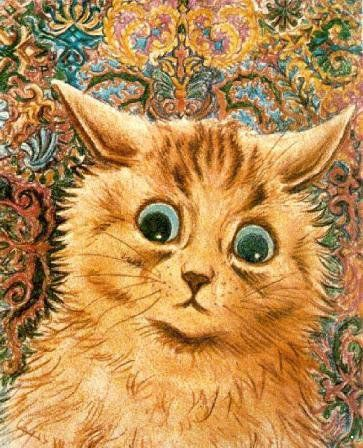 Художник, рисующий котов. / Блог AdolfH