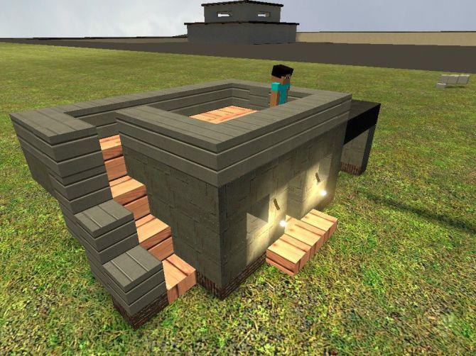 смотреть видео майнкрафт как построить дом