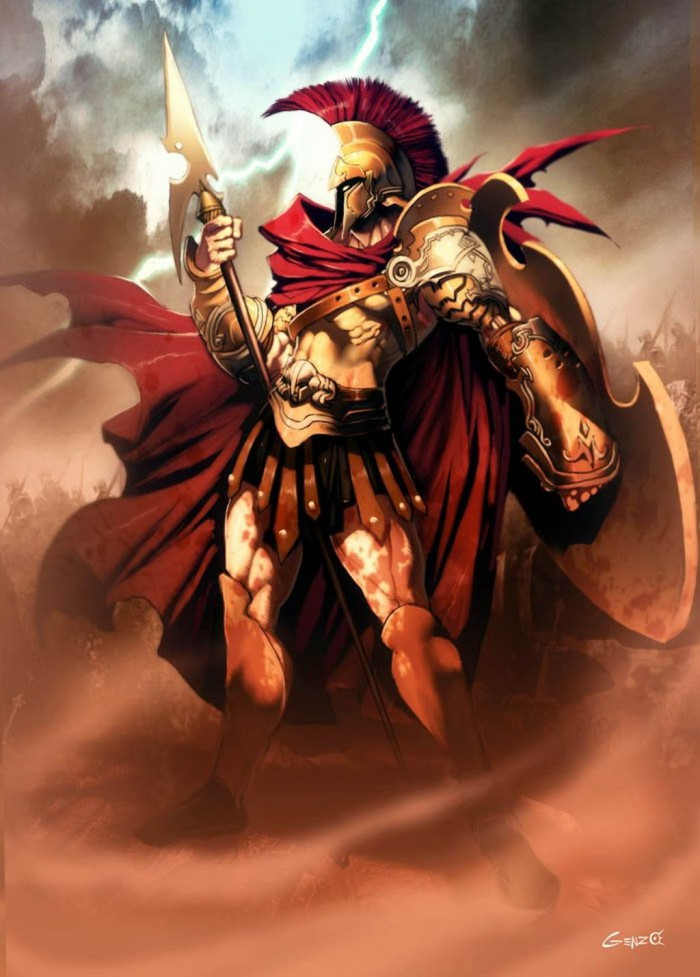 картинки бог войны