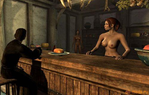 Мод на скайрим голые женские тела