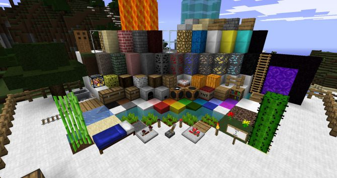 minecraft 1 0 0 скачать текстуры: