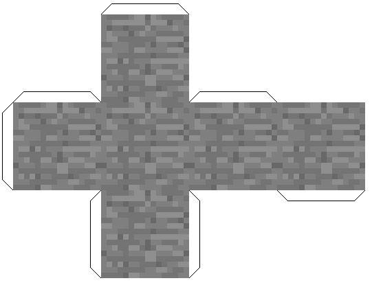 майнкрафт из бумаги блоки картинки