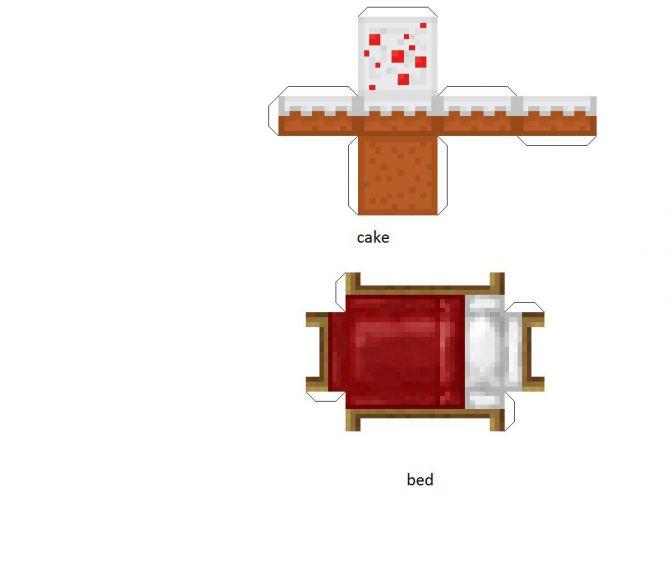 Upd1 Minecraft бумажные предметы блоки и т п добавлено