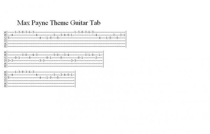 metro 2033 разбор на гитаре