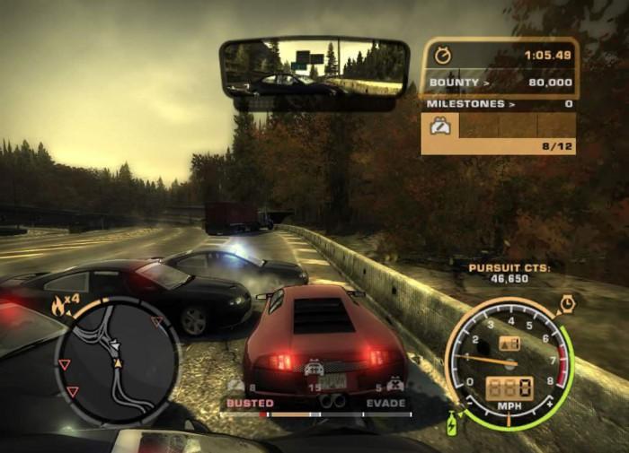 Скачать Need for Speed Most Wanted [Мод: много денег