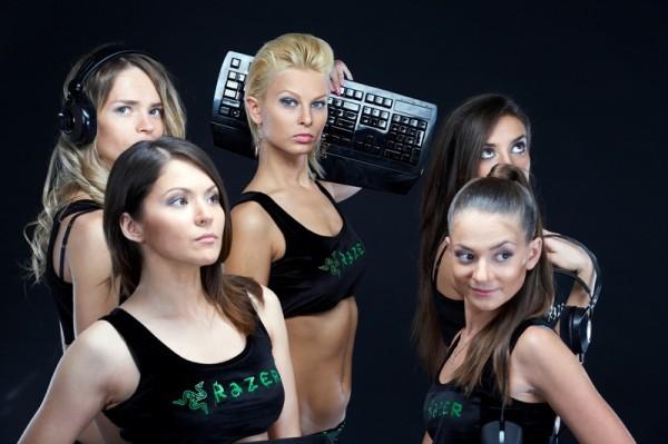Интервью с девушками киберспортсменками