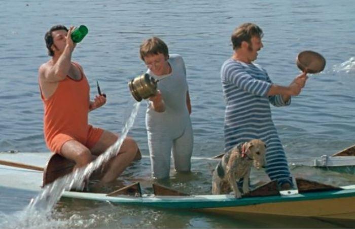 томск трое в лодке
