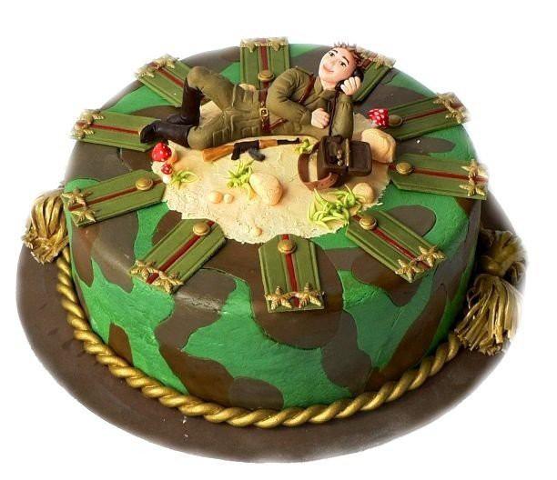 Дембельский торт фото