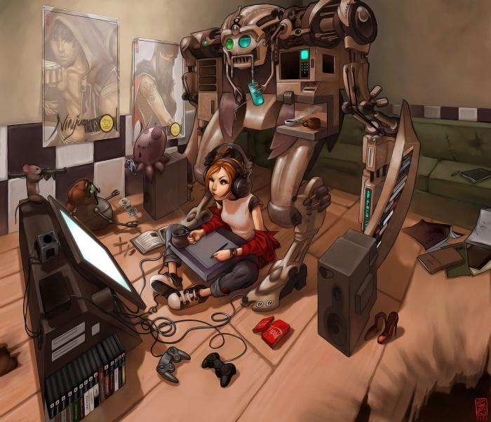 Роботы воители мультфильм