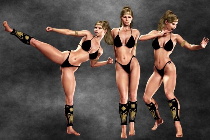 Karate women nude