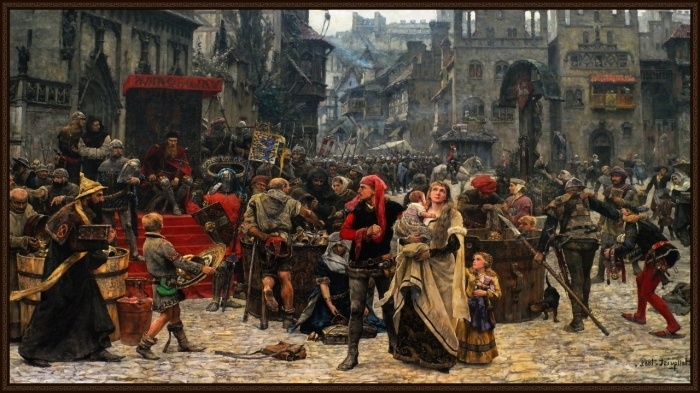 Быт города позднего средневековья