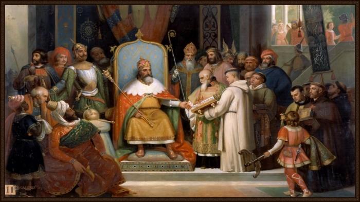 Монарх и приближенная к нему аристократия