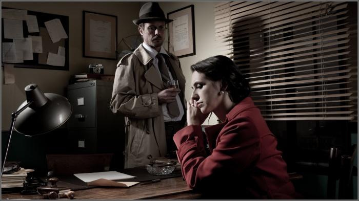Кабинет детектива