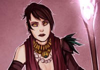 Morrigan из Dragon Age [Girls in Games]