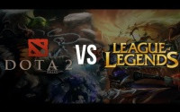 League of Legends & DotA 2 — сравнение.