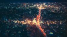 Манящий ночной Токио