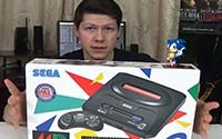 Распаковка оригинальной SEGA Mega Drive