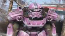 Редкая раскраска Силовой Брони в Fallout 4