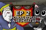 [M.A.T.S.] Doraleous & Associates Episode 2: The War Room [RUS DUB]