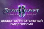 Вступительный видеоролик SC2 Heart of the Swarm (Русский язык)