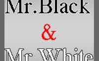 Mr. Black & Mr. White Игра.