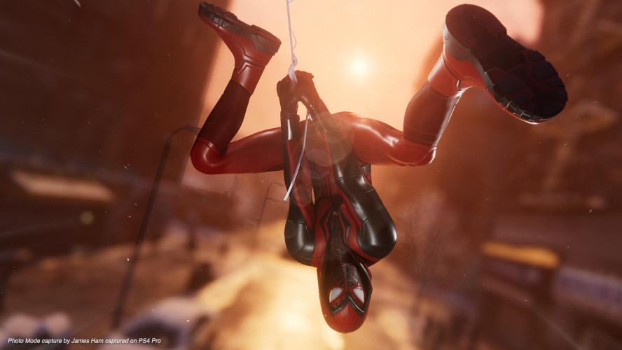 Трейлер фоторежима Spider-Man: Miles Morales