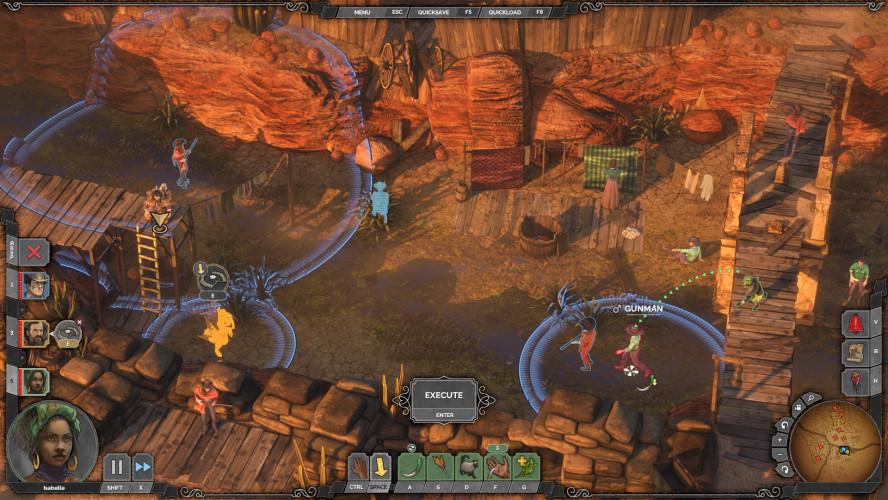 Возвращение в Орлиное Гнездо — трейлер к выходу финального DLC для Desperados III