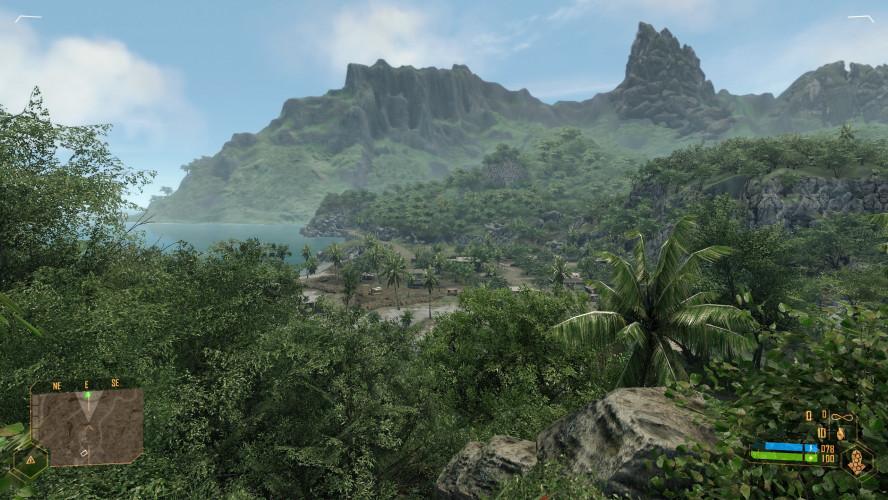 «Потянет ли он Crysis?» — скриншот из PC-версии Crysis Remastered с эксклюзивным графическим режимом