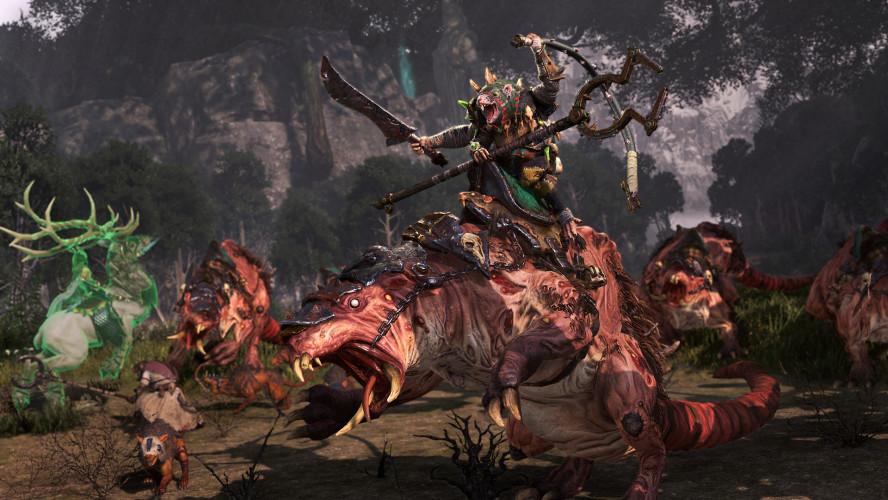 The Twisted & The Twilight — дополнение для Total War: Warhammer II с новыми фракциями, лордами и отрядами. Релиз — 3 декабря