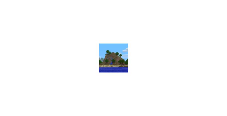 В Minecraft отыскали ещё один знаковый мир — с картинки pack.png